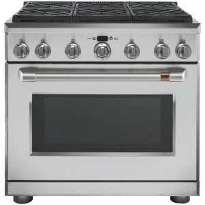 "Cafe Appliances36"" All-Gas Professional Range with 6 Burners (Natural Gas)"