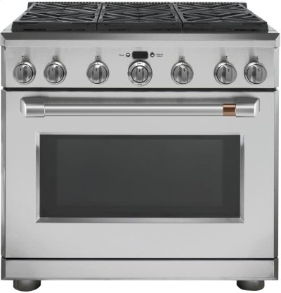 "Café 36"" All Gas Professional Range with 6 Burners (Natural Gas) Product Image"
