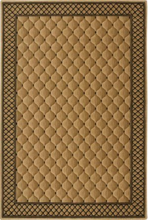 Hard To Find Sizes Cosmopolitan C26f Beige Rectangle Rug 6' X 9'