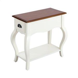 Stein WorldArroyo Grande 1-drawer Accent Table In White