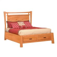 Full Catalina Panel Bed with Drawers