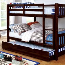 Cameron Full/full Bunk Bed, Dark Walnut