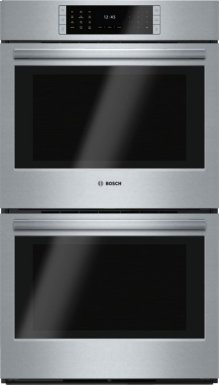 "30"" Double Wall Oven, HBLP651UC, Stainless Steel"