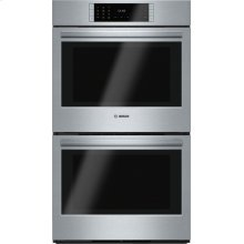 Benchmark® built-in double oven 30'' Stainless steel HBLP651UC