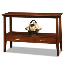 Two Drawer Sofa Table #10433