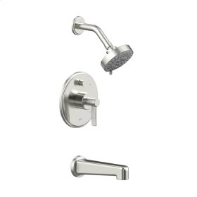 Satin Nickel Wallace (Series 15) Tub and Shower Trim