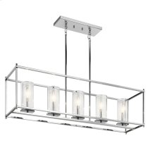 Crosby Collection Crosby 5 Light Linear Chandelier CH