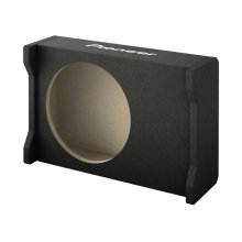 "Downfiring Enclosure for 10"" Shallow Subwoofer"
