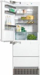 KFN 9855 iDE PerfectCool fridge-freezer maximum convenience thanks to generous large capacity and ice maker. Product Image