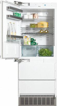KFN 9855 iDE PerfectCool fridge-freezer maximum convenience thanks to generous large capacity and ice maker.