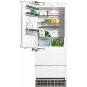 MieleKFN 9855 iDE PerfectCool fridge-freezer maximum convenience thanks to generous large capacity and ice maker.