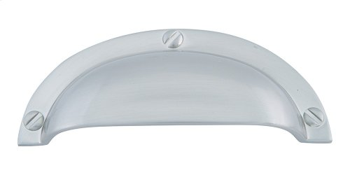 Cup Pull 2 1/2 Inch (c-c) - Brushed Nickel