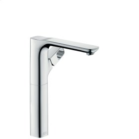 Chrome Single lever basin mixer 280 for washbowls with waste set