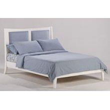 Chameleon Bed in White Finish