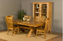 "42/68-2-12"" X-Base#2 Trestle Table"