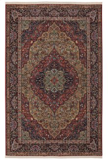 Medallion Kirman - Rectangle 8ft 8in x 10ft 6in