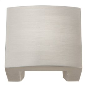 Centinel Solid Knob 1 1/4 Inch (c-c) - Brushed Nickel