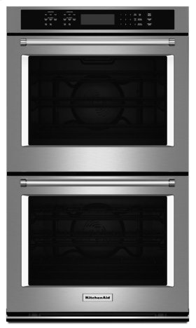 """27"""" Double Wall Oven with Even-HeatTM True Convection - Stainless Steel"""