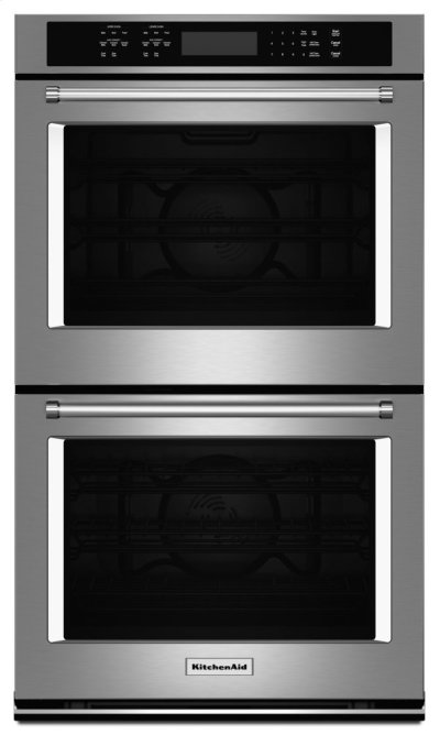 """27"""" Double Wall Oven with Even-Heat True Convection - Stainless Steel Product Image"""