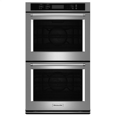 "27"" Double Wall Oven with Even-Heat True Convection - Stainless Steel Product Image"