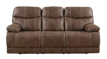 Earl - Motion Sofa Sanded Micro Brown