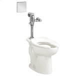 American StandardMadera ADA EverClean Toilet with Selectronic Exposed AC Flush Valve System - White