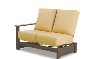 Right Arm Two-Seat Hidden Motion Sectional
