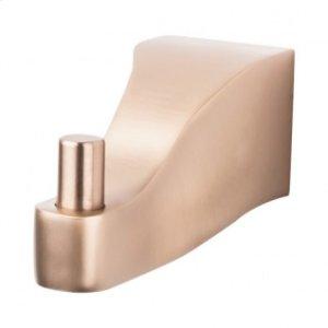 Aqua Bath Single Hook - Brushed Bronze
