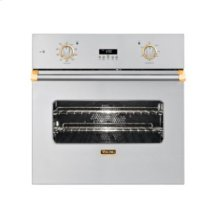 """30"""" Single Custom Electric Select Oven, Brass Accent"""