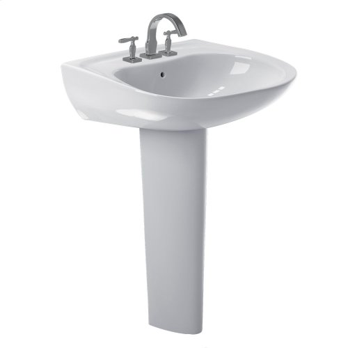 Prominence® Pedestal Lavatory - Colonial White