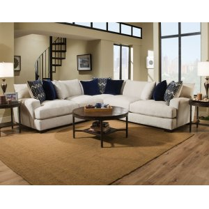 American Furniture Manufacturing1600 Ultimate Platinum Sectional