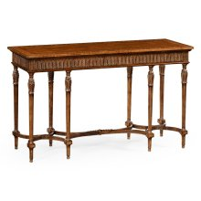 Napoleon III Style Console with Fine Inlay