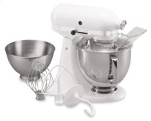Ultra Power® Tilt-Head Stand Mixer Flour Power™ Rating - 9 Cup 5-qt Stainless Steel Bowl with Comfort Handle 3-qt Bowl