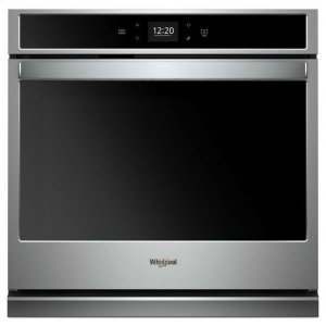 Whirlpool® 5.0 cu. ft. Smart Single Wall Oven with Touchscreen - Stainless Steel Product Image