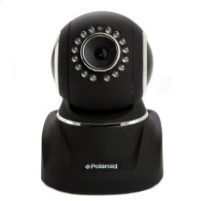 Polaroid Wireless Network Surveillance Camera IP300B with remote control movement, 2-way intercom and advanced filter lens