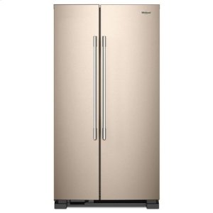 WhirlpoolWhirlpool® 36-inch Wide Side-by-Side Refrigerator - 25 cu. ft. - Sunset Bronze