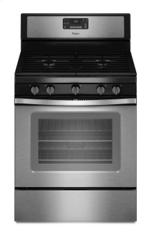 Floor Model Clearance! Whirlpool 5.0 Cu. Ft. Freestanding Gas Range with Fan Convection Cooking