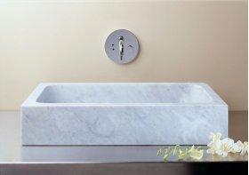 Milano Sink Carrara Marble