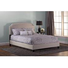 Lani Queen Bed - Light Grey