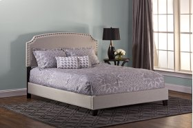 Lani Queen Bed - Light Grey