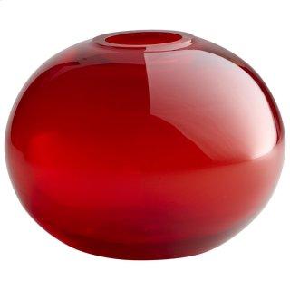 Small Red Pod Vase