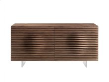 The Moon Walnut Veneer Dresser
