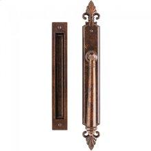 "Bordeaux Lift & Slide - 2"" x 17"" Silicon Bronze Brushed"