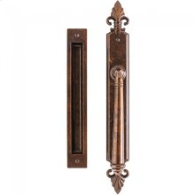 "Bordeaux Lift & Slide - 2"" x 17"" Silicon Bronze Brushed"