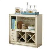 Huntleigh Bar Console Vintage White finish Product Image