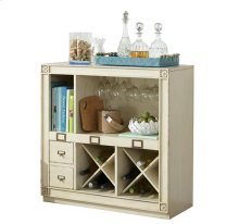 Huntleigh Bar Console Vintage White finish
