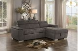 Sectional with Pull-out Bed and Hidden Storage Product Image