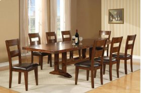 Double Trestle Table