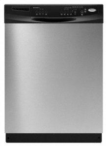 Black-on-Black Built-In Super Capacity Tall Tub Dishwasher