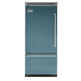 "Iridescent Blue 36"" Bottom-Mount Refrigerator/Freezer - VIBB (Left Hinge Door)"